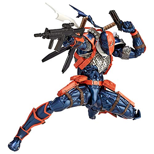 Kaiyodo Figure Complex Amazing Yamaguchi No. 009: Deathstroke Action Figure, Multicolor AUG188790 from Kaiyodo