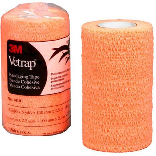 3M COMPANY 1410BO Vetrap 4x5YD Orange Tape