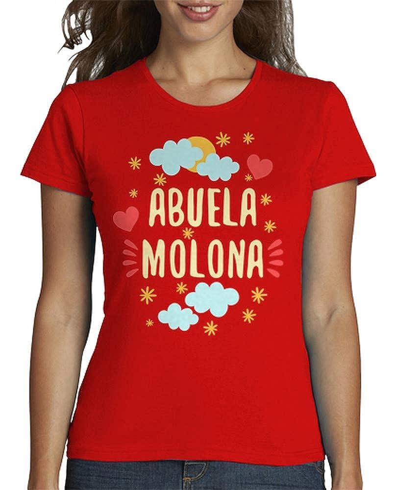 latostadora - Camiseta Abuela Molona para Mujer: hello: Amazon.es: Ropa y accesorios
