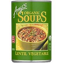 Amy's Organic Soups, Lentil Vegetable, 14.5 Ounce