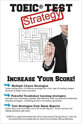 Book TOEIC Test Strategy: Winning Multiple Choice Strategies for the TOEIC® Exam