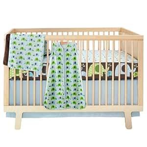 Amazon Com Skip Hop 4 Piece Bumper Free Crib Bedding Set