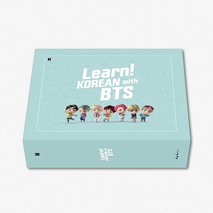 kpop group Korean language lessons book package