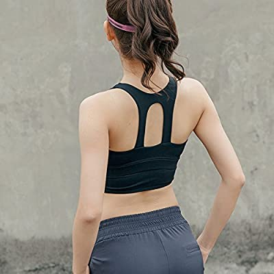 Amazon.com: KYXXLD Back Together Sports Bra Female Yoga ...