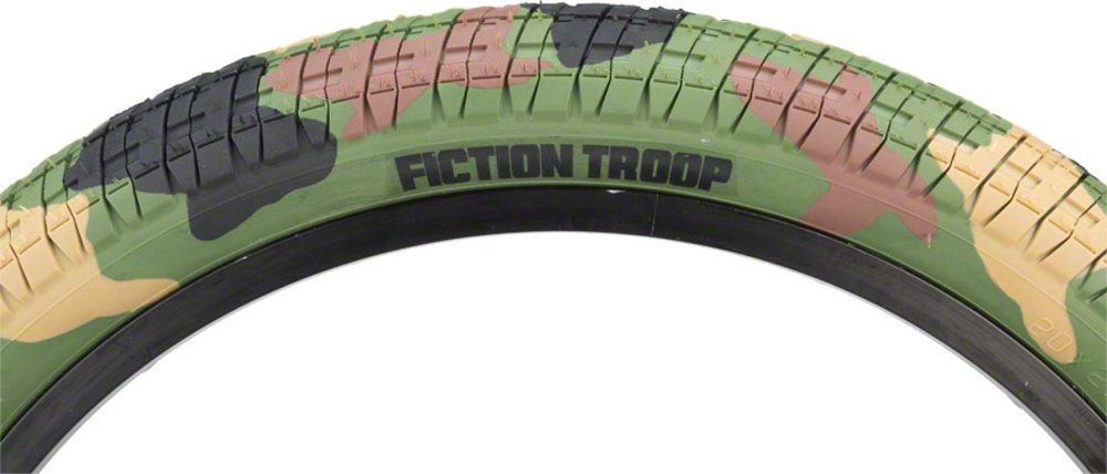 Fiction Troopタイヤ20 x 2.3ジャングル迷彩 B0756NK3XJ