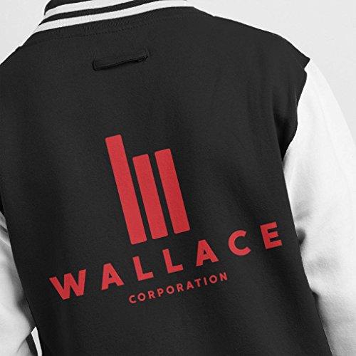 Wallace Corp Men's 2049 Runner Varsity Jacket Blade Logo 1ZxfEq6n