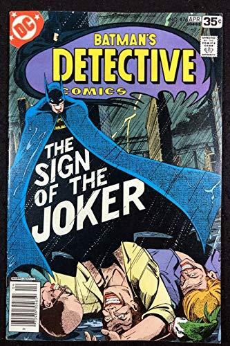 Detective Comics (1937) #476 FN/VF classic Marshall Rogers Joker cover Batman