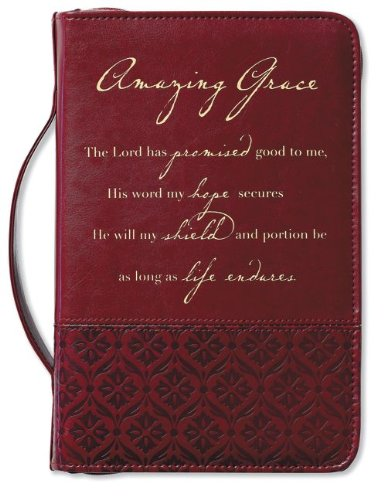 Amazing Grace Italian Duo-Tone Rich Red Cover Large