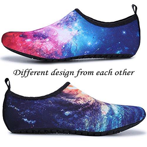 Dry Summer Shoes Women's Water Sky JOINFREE Starry Socks Men's Shoe Quick Yoga Barefoot Kid Aqua qtXddwBzW
