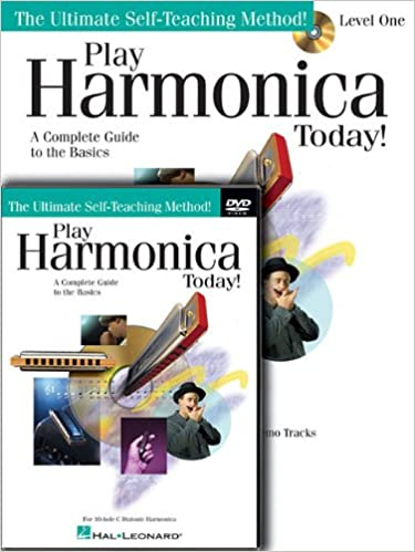 Amazon com: Play Harmonica Today! Beginner's Pack: Level 1