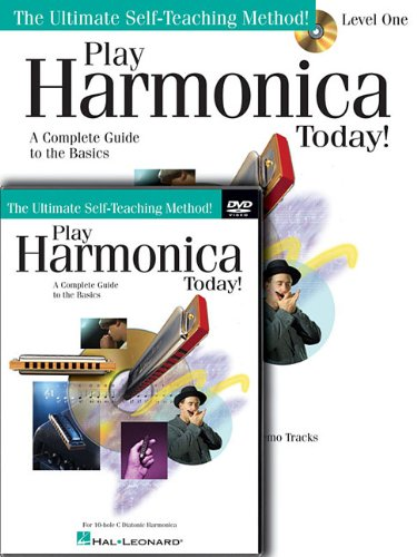 Play Harmonica Today! Beginner's Pack: Level 1 Book/CD/DVD Pack (Beginner's Packs)