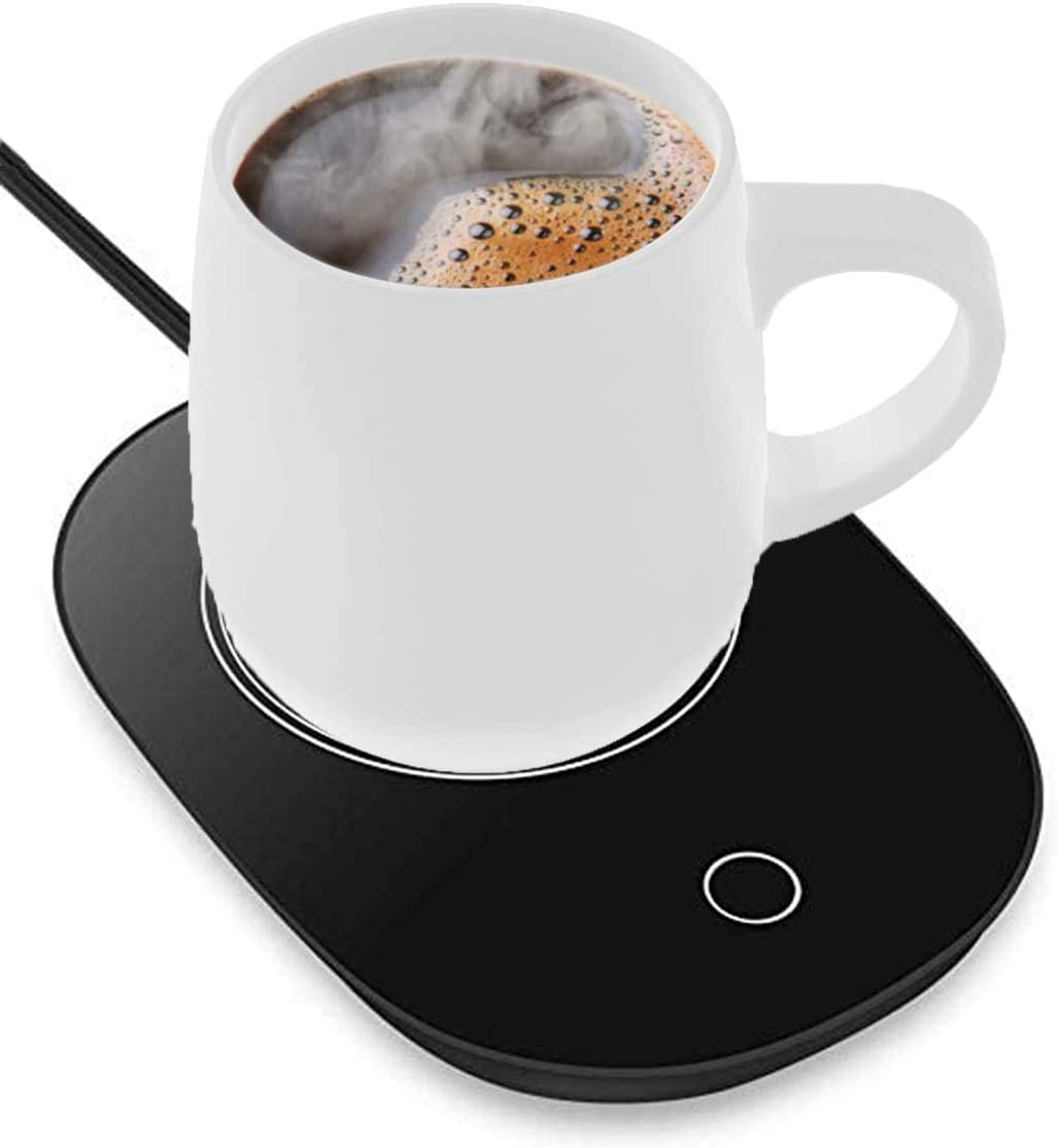 Coffee Mug Warmer, Cup Warmer for Desk Automatic Shut Off, Beverage Warmers with Touch Screen Switch for Coffee, Water, Milk, Tea