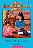 Claudia and Great Search (Baby-Sitters Club, 33) by Ann M. Martin front cover