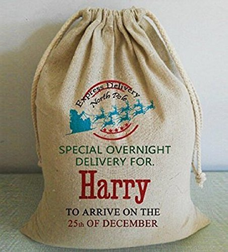 Personalized Christmas Sacks-special overnight delivery to sb to arrive on the 25th of december-Christma Bags for Gift Extra Large
