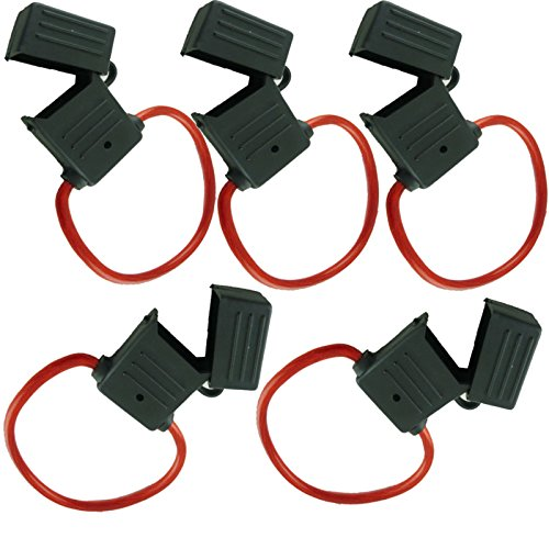 e AWG Inline Maxi Fuse Holder with Waterproof Cover (5/pack) ()