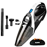 Cordless Vacuum, WELIKERA 12V 100W Hand-held Cordless Vacuum Cleaner, Powerful Portable Pet Hair
