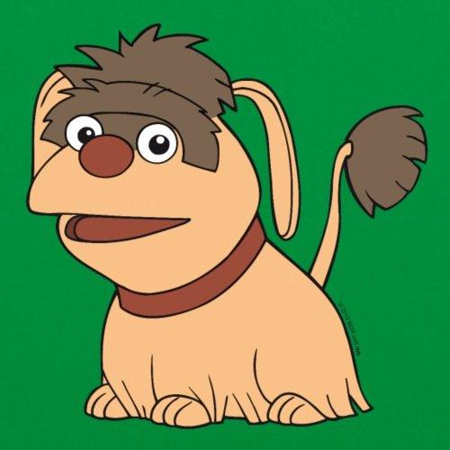 Spreadshirt Sandmännchen Und Seine Freunde Hund Moppi Stoffbeutel Kelly Green