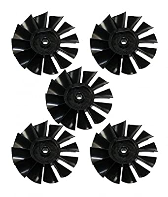 Porter Cable C2002 Air Compressor 5 Pack Replacement 8mm Motor Fan # D24595-5PK