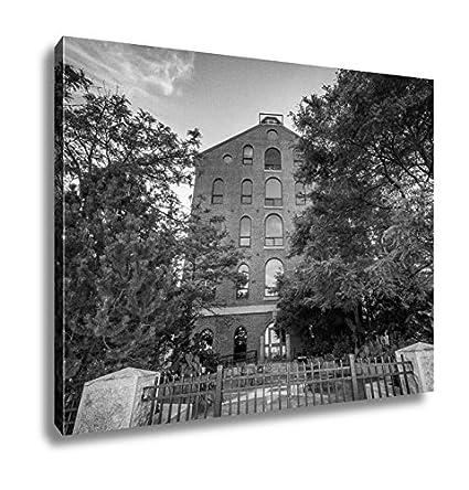Amazon Ashley Canvas Brick Building In The North End Of Boston