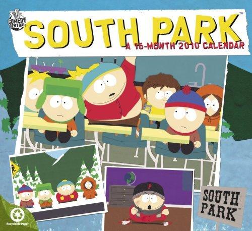 South Park 2010 Wall Calendar by DayDream (2009-08-01) (Park 2010 Wall Calendar)