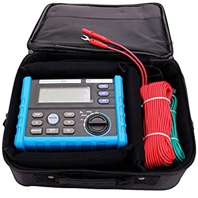 Professional Digital Earth Ground Resistance Meters Tester Multimeter Resistance Measurer Tool