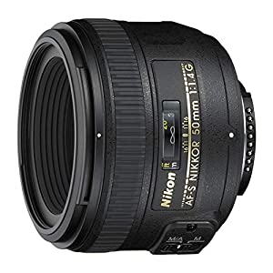 Nikon AF-S Nikkor 50mm f/1.4G Prime Lens for Nikon DSLR Camera