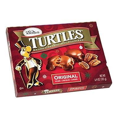 DeMet's Turtles Caramel Nut Clusters, Original, 6.4 OZ
