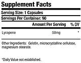 3 Bottles Lycopene 50mg 270 Total Capsules KRK Supplements Discount