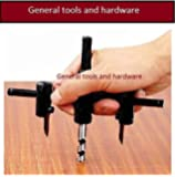 General tools Adjustable Metal Circle Cutter Hole Saw Drill Set 30MM - 120MM