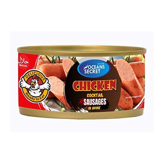 Oceans Secret Chicken Sausages in Brine 180g(Pack of 2)