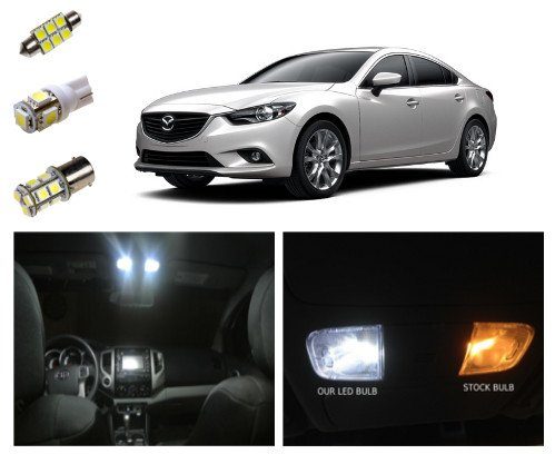 2014 mazda 6 led package interior tag reverse lights for Inside 2007 online