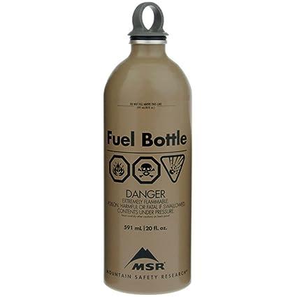 Amazon.com: MSR 22oz Militar Botella de combustible Tan ...