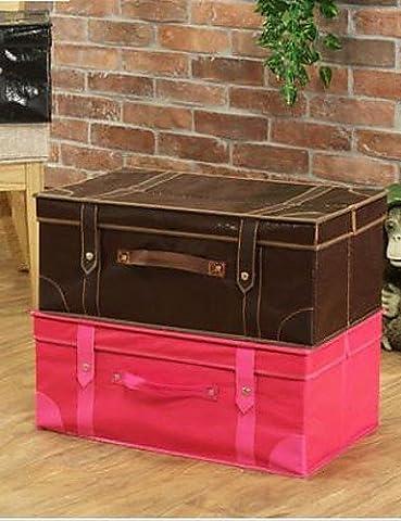 LBLI Multifunctional Antique Oxford Clothing of Storage Box , black JIAJU-YONGPING #1032 - 1032 Red Kitchen