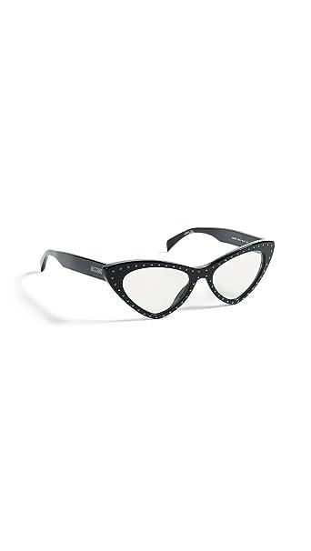 Gafas de Sol Moschino MOS006/S BLACK/UVA UVB TRANSPARENT ...