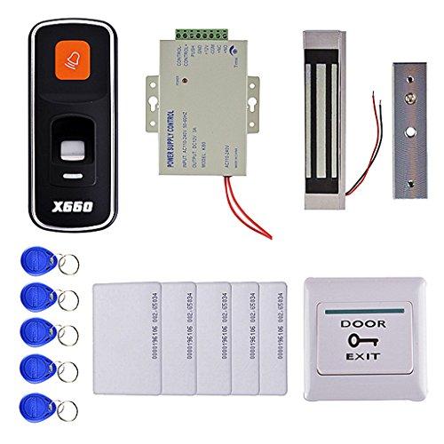 MonkeyJack Fingerprint Access Control System Electric Door Lock Intercom Access Control