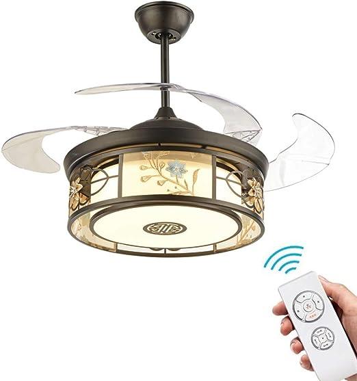 YZPFSD Ventilador de Techo retráctil Chino Control Remoto ...