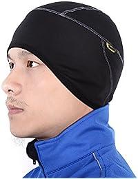 Cycling Windproof Thermal Skull Cap and Helmet Liner Bicycle Fleece Hat