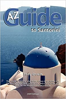 Book A to Z Guide to Santorini 2009