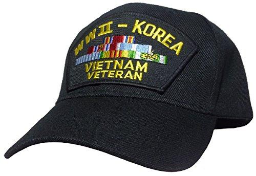 WWII-Korea-Vietnam Veteran Cap