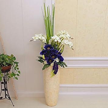 GUANGMING77 Die Schalen Landung Große Vase Mit Blumen Blume ...