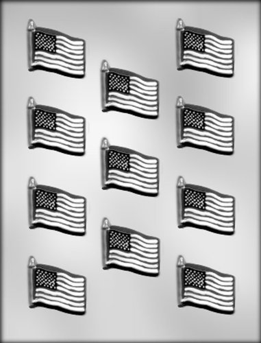 (CK Products 1-5/8-Inch Flag Chocolate Mold)