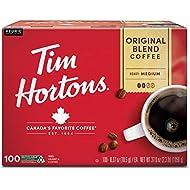 Tim Hortons Original Blend Premium Coffee (100 ct.), 37 Ounce