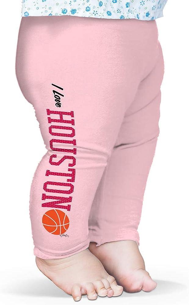 TWISTED ENVY I Love Houston Basketball Baby Funny Leggings Trousers