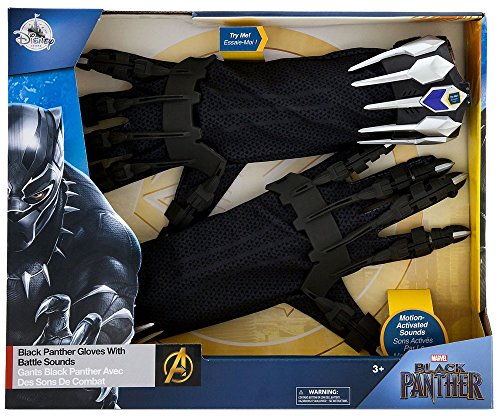 Black Panther Glove Set with Battle Sounds