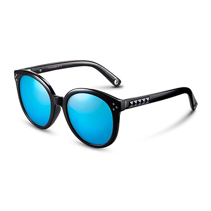 Gafas redondas grandes Gafas de sol polarizadas Gafas para hombre y mujer Gafas de sol de moda Gafas de sol redondas Gafas de sol de protección UV Gafas de ...