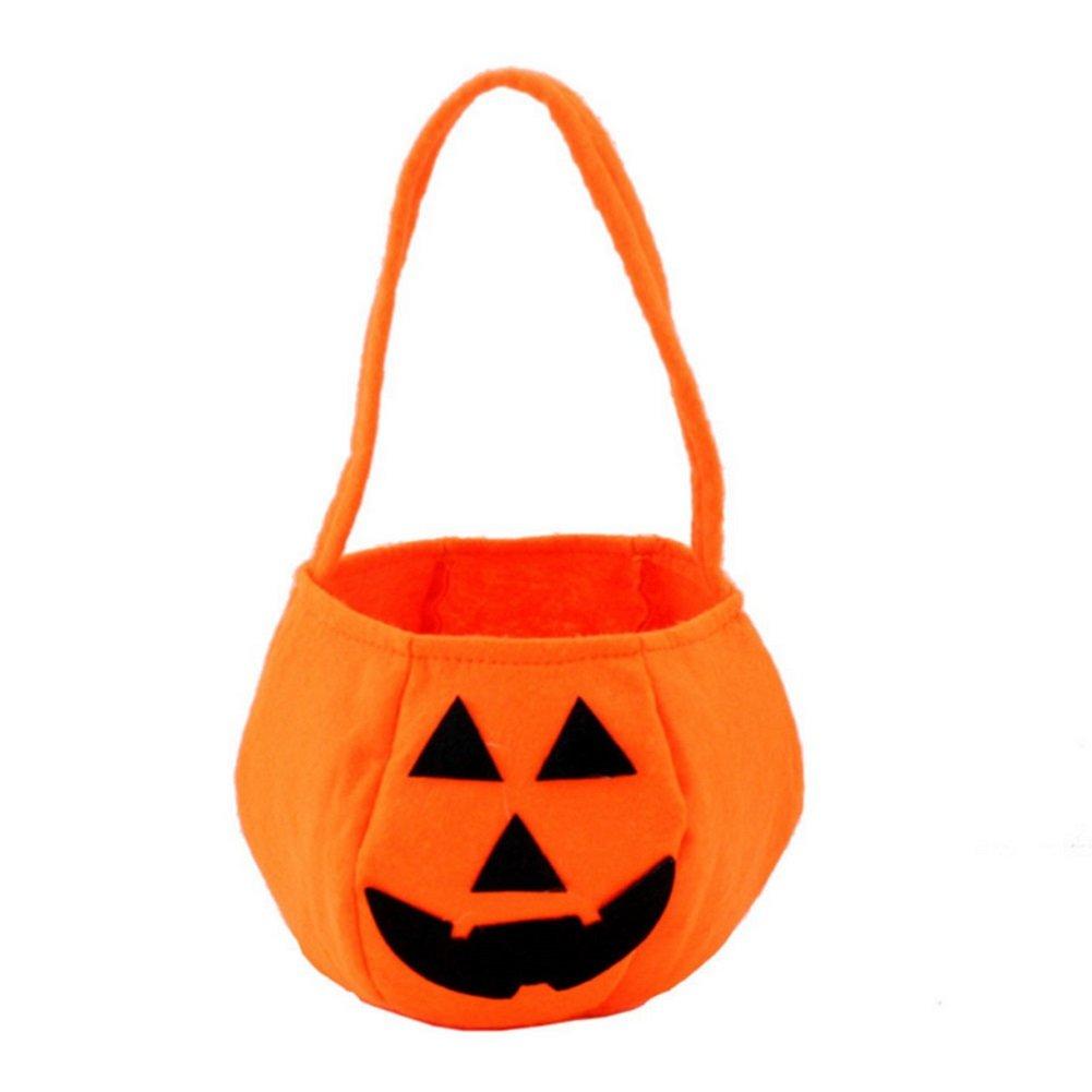 Hosaire Sacs /à bonbons Halloween Sac en Cadeau de Bonbons Biscuit Chocolat Cadeau pour Enfant Motif de Citrouille Sac D/écoration de F/ête