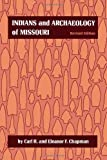 Book cover from Indians and Archaeology of Missouri, Revised Edition by Carl H. Chapman