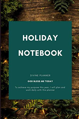 (Holiday Notebook: Lined Paper, Blank Quad Ruled, Softback (Composition Books))