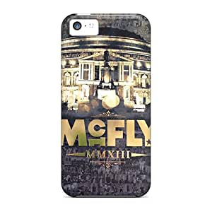 Iphone 5c YkA12474ERjK Unique Design Stylish Mcfly Band Skin Shock-Absorbing Hard Cell-phone Cases -ChristopherWalsh