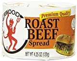 Underwood Roast Beef Spread, 4.25 Ounce (Pack of 24)